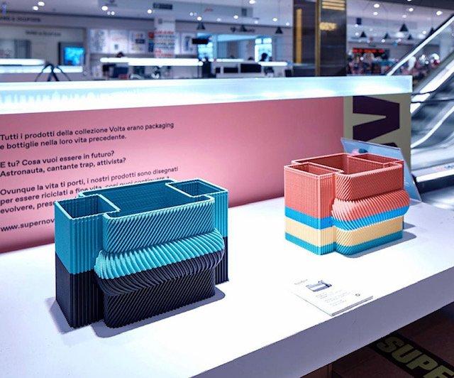 Collezioni di design interamente sostenibile.