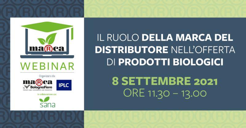 Il ruolo della marca del distributore nell'offerta di prodotti biologici.
